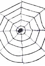 64-Led Light-Up Plush Spider Web