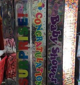 Foil Banner