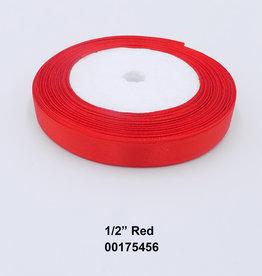 Satin Ribbon 1/2 Inch Roll 25yds