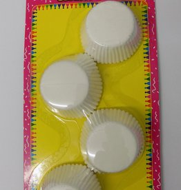 Cake Cups White 3 Inches - 120 Pieces