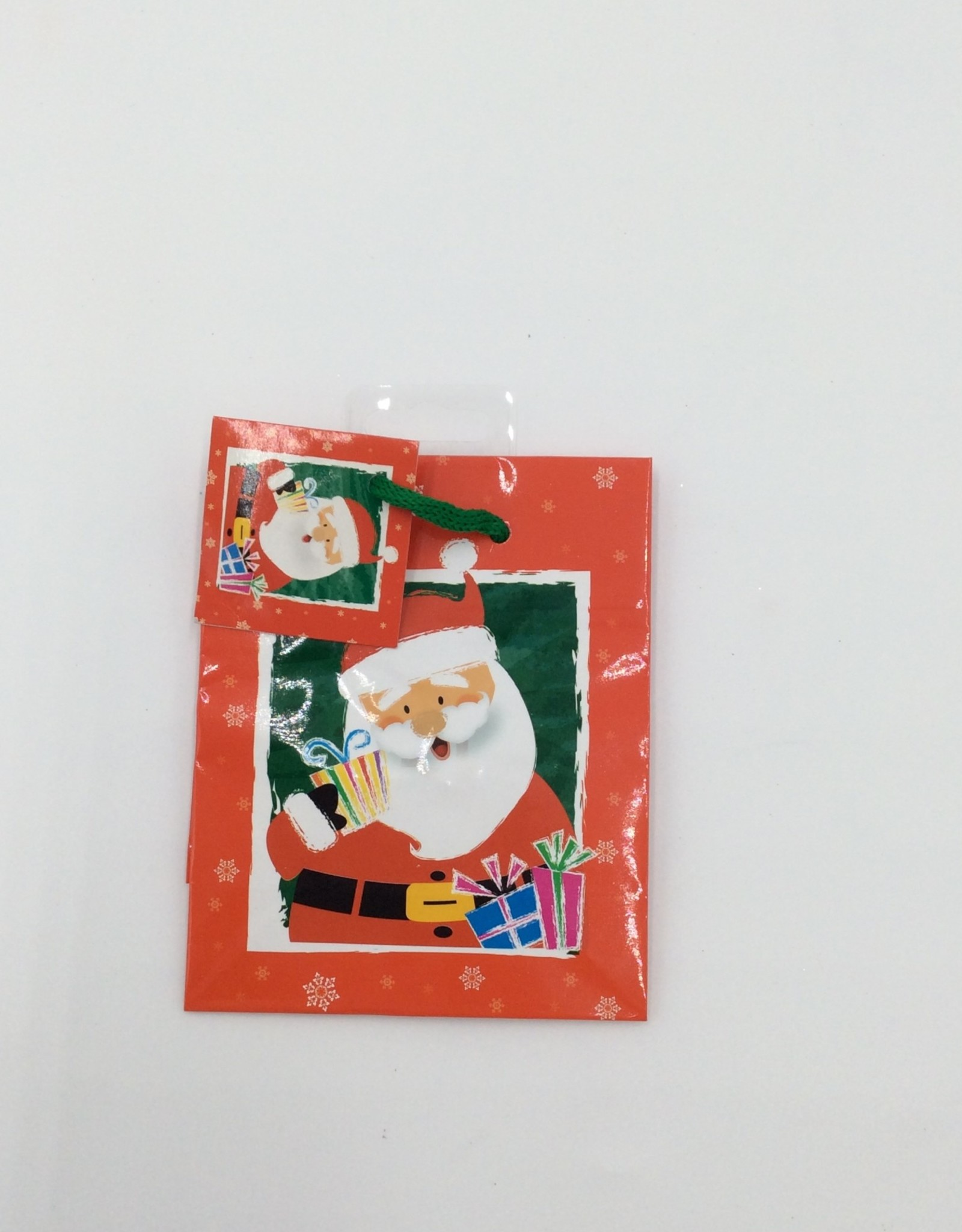 """Christmas Printed Gift Bags 5x4"""""""