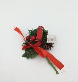"""Christmas Holly Berries Pick 7"""""""