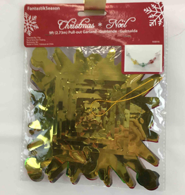 Christmas Noel Pull-out Garland 9ft