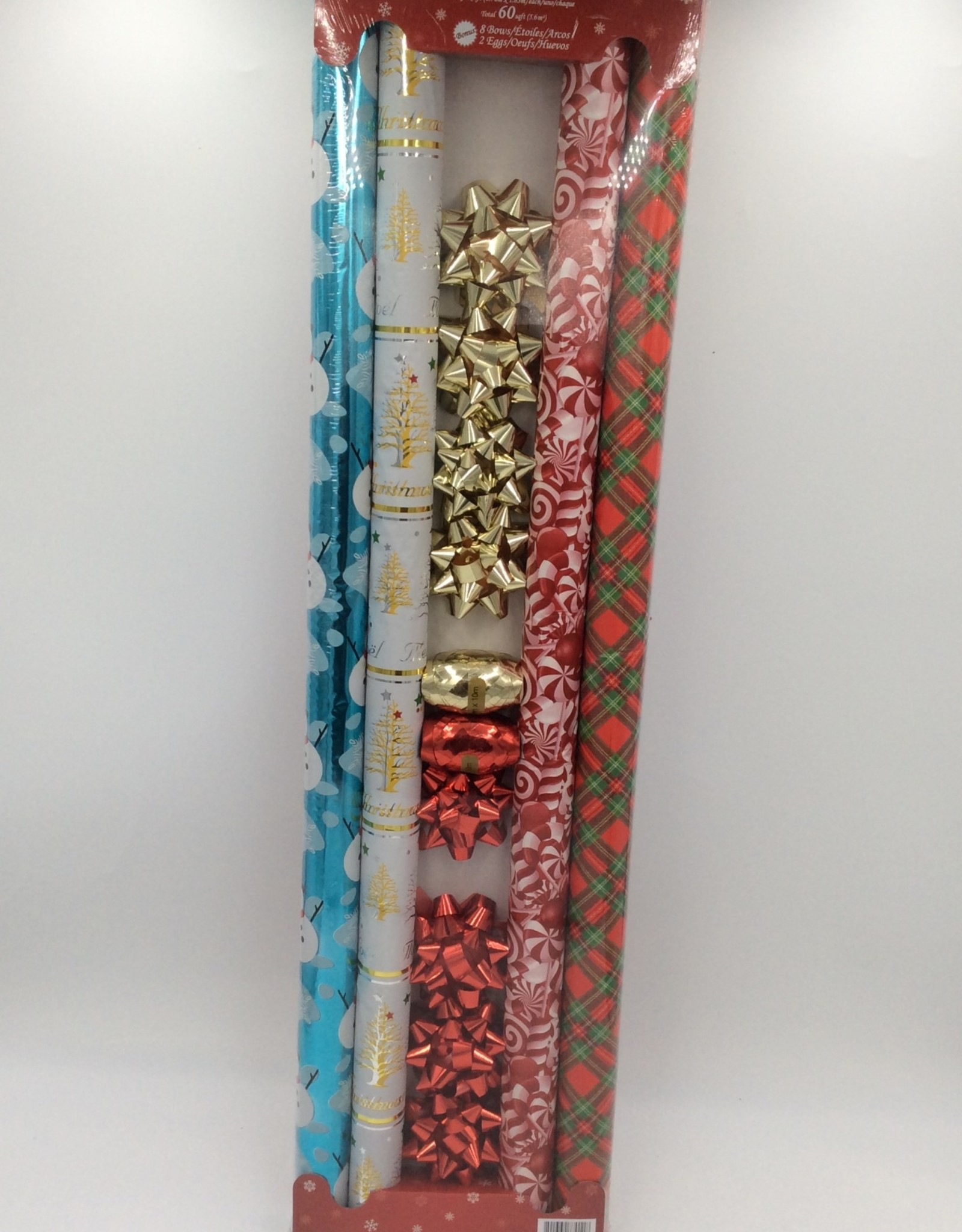 Christmas Wrapping Paper Gift Set