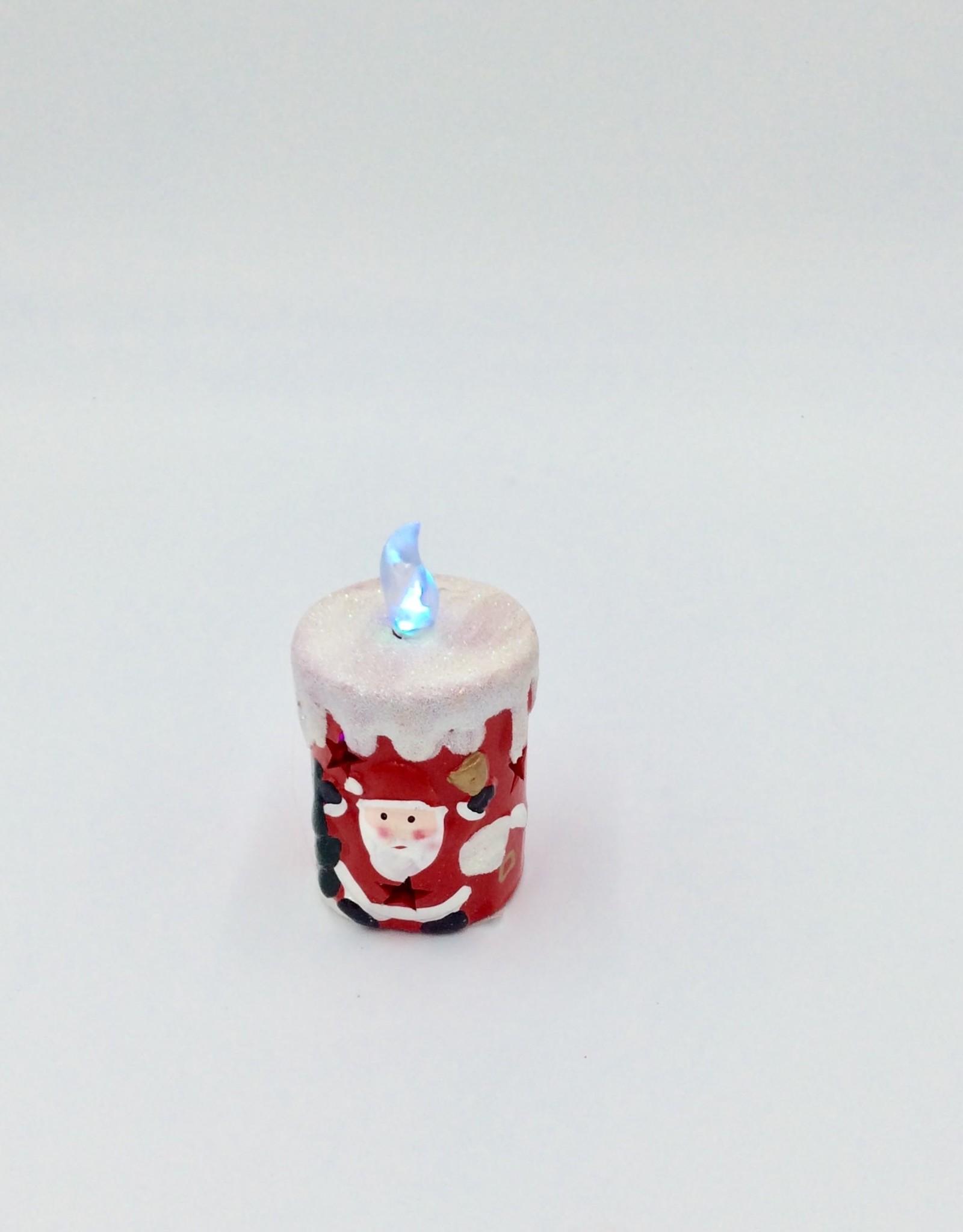 Christmas Ceramic LED Candle