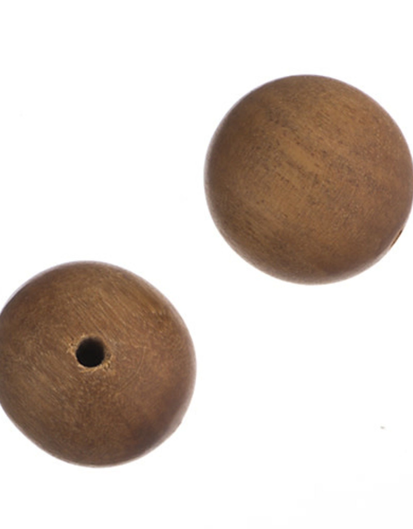 Sandlewood 8 Inches Light Brown 20mm Round