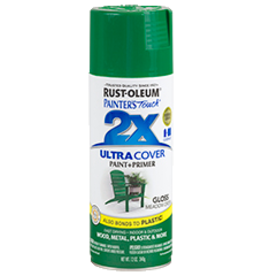 Rustoleum 2X Ultra Cover Gloss Spray Paint 12oz Meadow Green