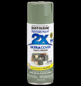Rustoleum 2X Ultra Cover Gloss Spray Paint 12oz Sage Green