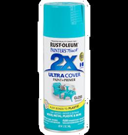 Rustoleum 2X Ultra Cover Gloss Spray Paint 12oz Seaside