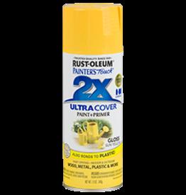 Rustoleum 2X Ultra Cover Gloss Spray Paint 12oz Sun Yellow