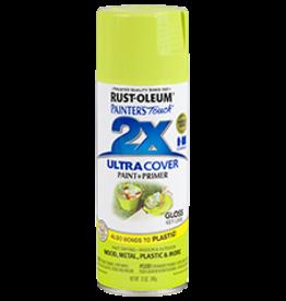 Rustoleum 2X Ultra Cover Gloss Spray Paint 12oz Key Lime