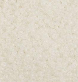 Czech Seedbeads 10/0 Transparent Crystal AB Matt 500g