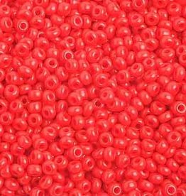 Plastic Seedbeads Red