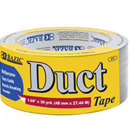 """Duct Tape  Silver 1.88"""" x 30 yards"""