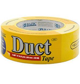 """Duct Tape  Yellow 1.88"""" x 60 yards"""