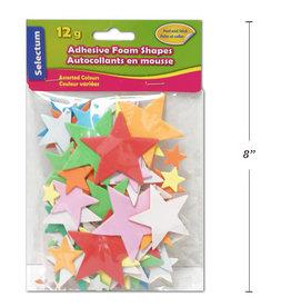 Adhesive Foam Shapes 2 x 5.5 cm Stars