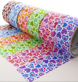 """Duct Tape  Heart Series 1.88"""" x 5 yards"""