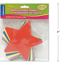 Adhesive Foam Shapes  14 cm Stars