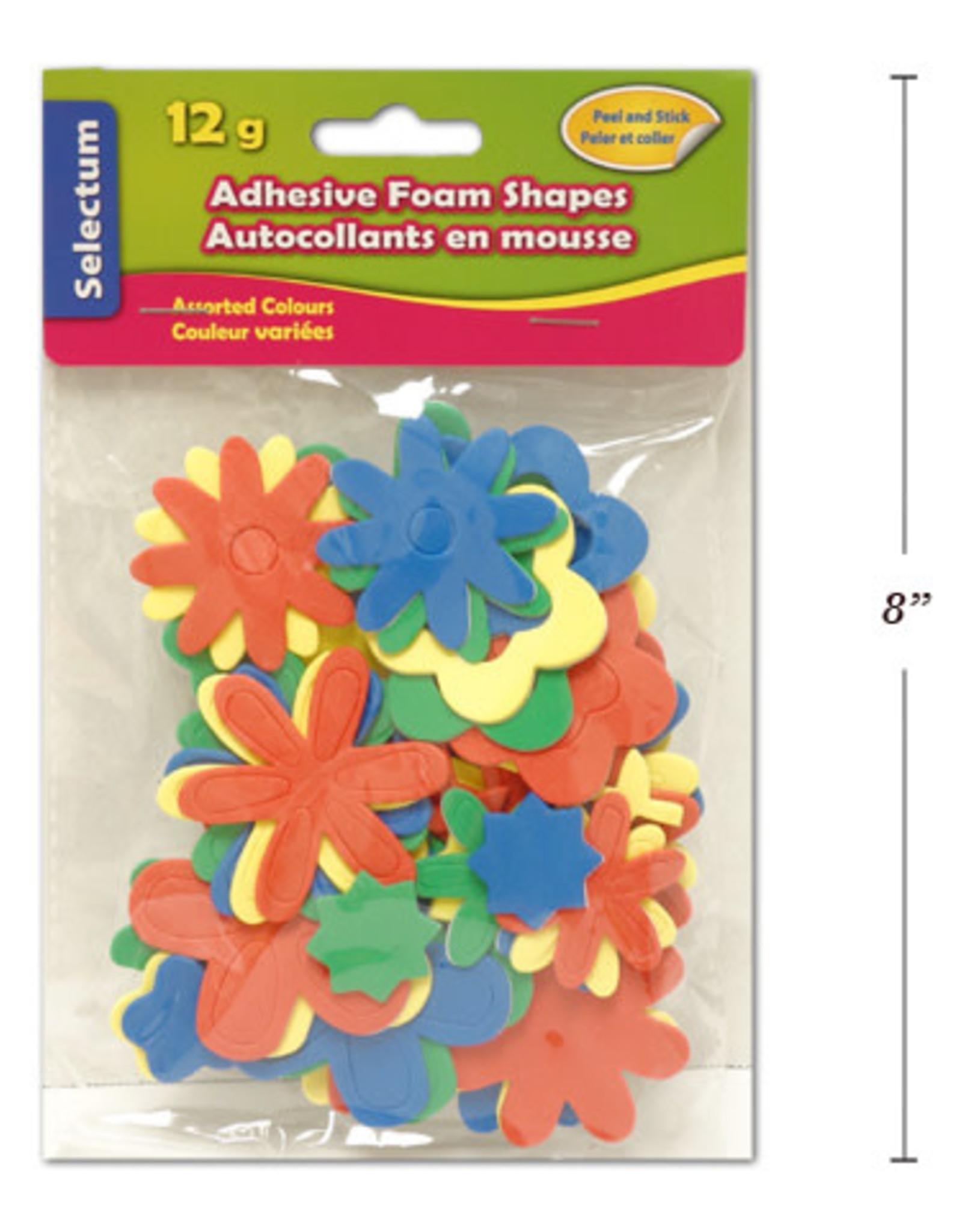 Adhesive Foam Shapes  14 cm Sunflowers