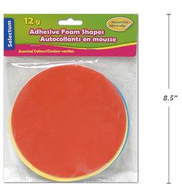 Adhesive Foam Shapes  14.5 cm Round