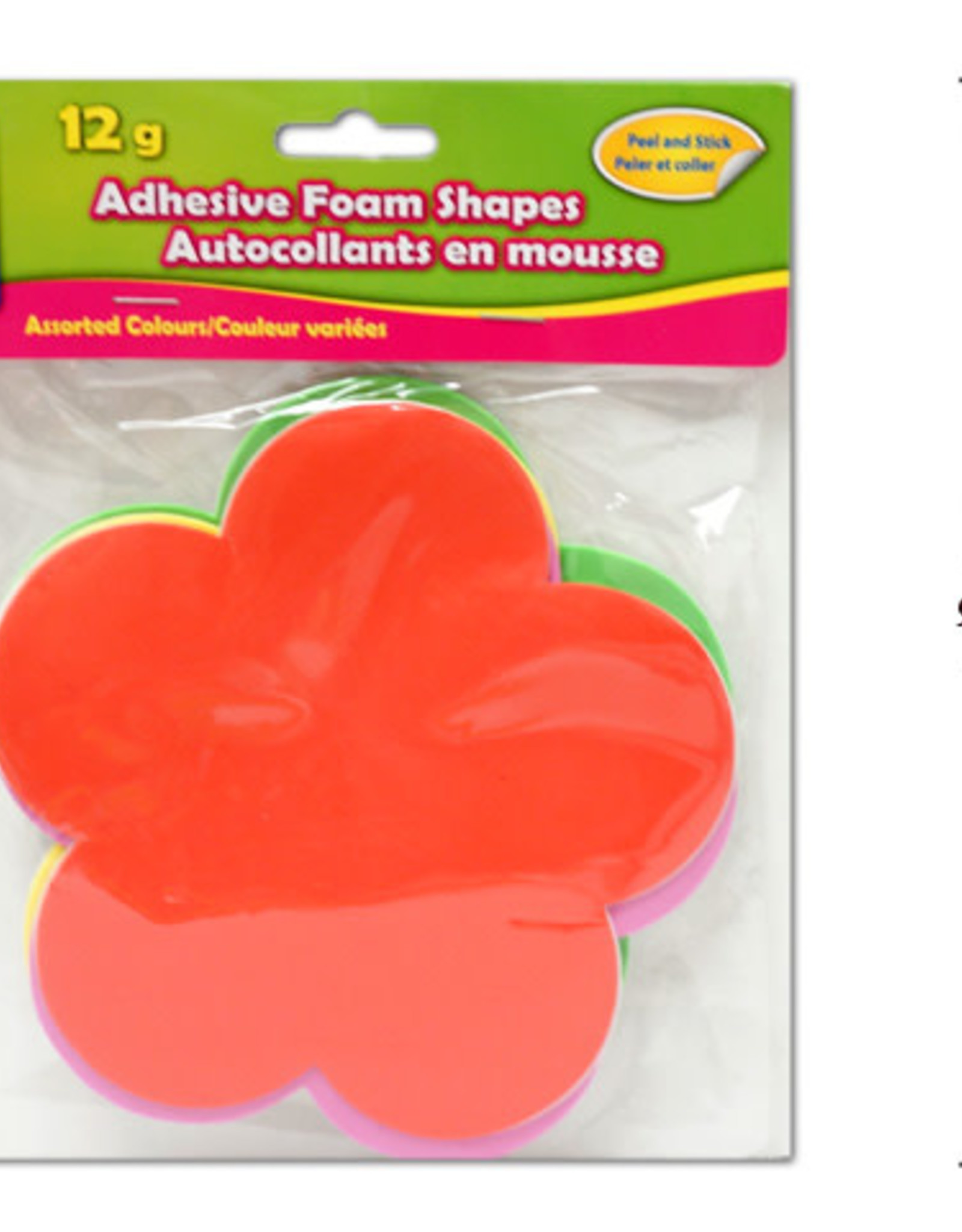 Adhesive Foam Shapes  15 cm Clovers
