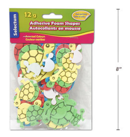 Adhesive Foam Shapes  3 x 6.5 cm Turtle