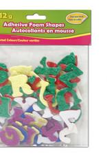 Selectum Adhesive Alphabets Glitter Foam 12 Grams Multi Coloured