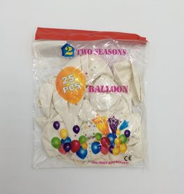 Two Seasons Balloons 12 Inches (25 Pieces)
