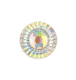 Resin Sew-On Piikki Stones 10pcs 20mm Round