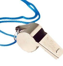 Metal Whistles W/Lanyards Each