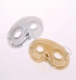 Eye Masks Gold/Silver (12 Pieces)