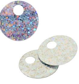 Lazer Sequin 25mm Round 100 grams