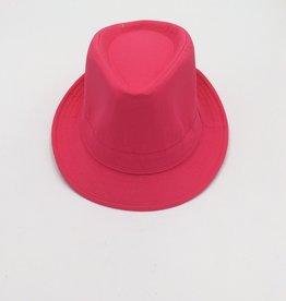 Adult Fedora Hat Neon