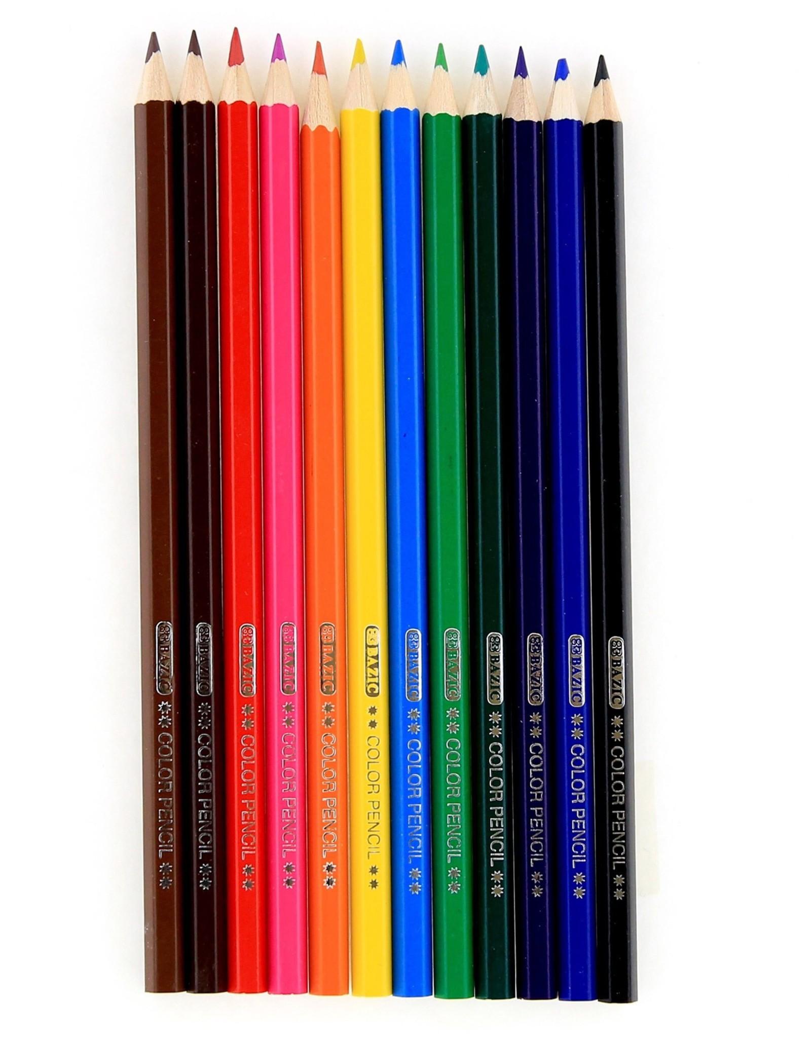 12 Colour Pencil