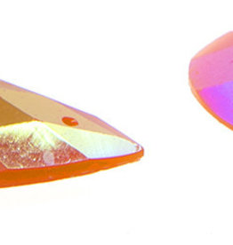 Opal Bright Sew-on Stone 16 x 30 mm Drop (10 Pieces)