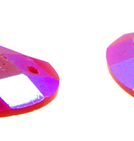 Opal Bright Sew-on Stone 18 x 25 mm Oval  (10 Pieces)