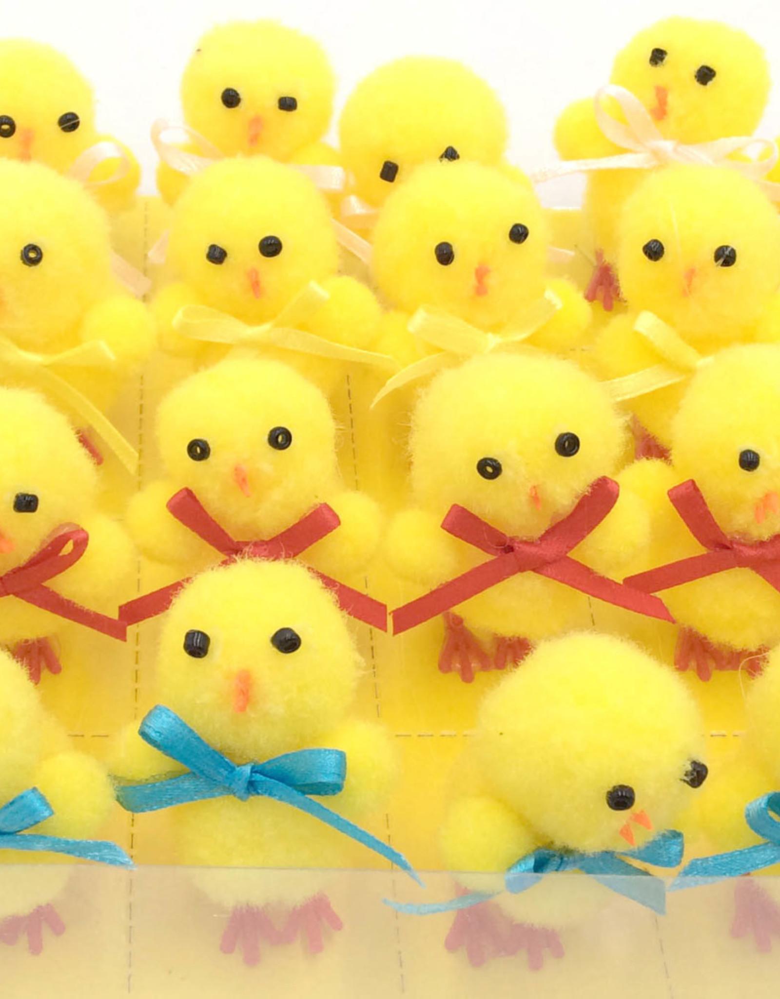 Chicks w/ Ribbon Bowtie