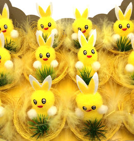Yellow Chicks With Bunny Ears