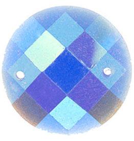 Glitter Sew-On Stone (10 pcs) 16mm Round