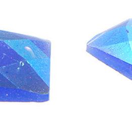 Glitter Sew-On Stone (10 pcs) 18x27mm Rectangle