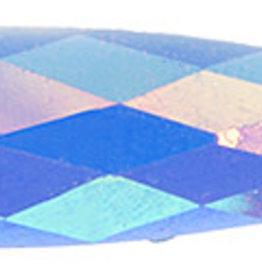 Glitter Sew-On Stone (10 pcs) 8x28mm Drop