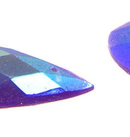 Glitter Sew-On Stone (10 pcs) 16x30mm Drop