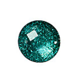Resin Sew-on Glitter Stone 18mm Round
