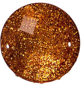 Resin Sew-on Glitter Stone 22mm Round