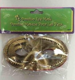 4Ct Domino Eye Masks