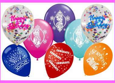 Printed Balloons (Helium Quality)