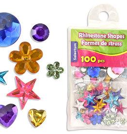 Assorted Rhinestones w/ Zip Pouch