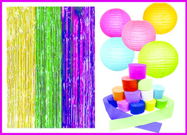 Party Streamers/Decor
