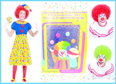 Clown Costume and Accesories