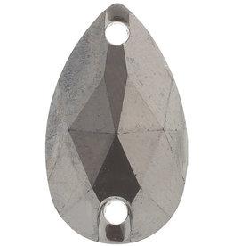 Metallic Rhinestones 10.5 x 18 mm Drop (50 Pieces)